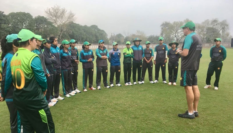 Women cricketers to train at Hanif Mohammad High-Performance Center