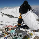 Microplastics found on top of the world at Mount Everest