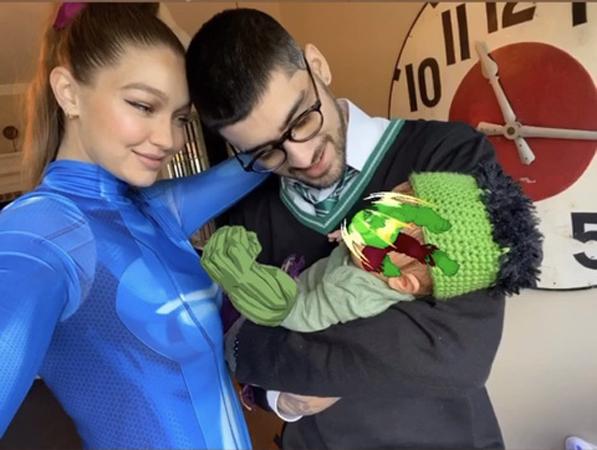Gigi Hadid and Zayn Maliks daughter leaves Mark Ruffalo gushing
