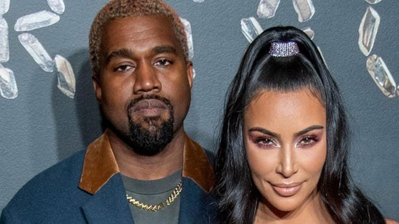 Dedicated Kim Kardashian's loving message, and it was not for Kanye West
