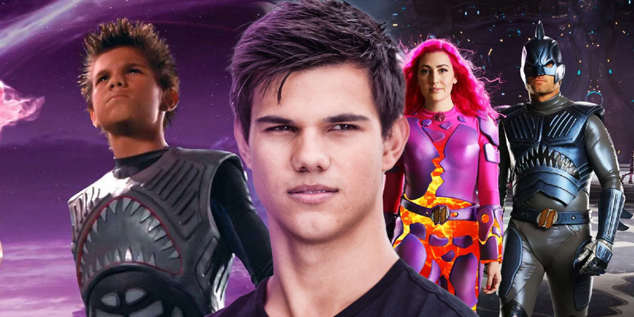 The first photos of Sharkboy and Lavagirl are published ¡Adultos!