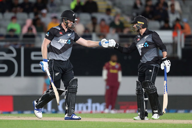 New Zealand wins toss, bowls in 1st T20 against West Indies