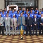 Pakistan WAPDA honours national hockey champions with cash awards