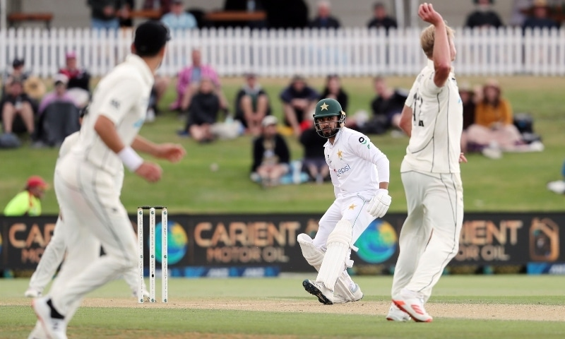 New Zealand's Jamieson fined for throwing ball at Faheem Ashraf in 'dangerous manner'