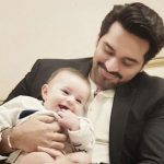 Humayun Saeed hangs out with Hamza Ali Abbasi's 'chilled out' kid