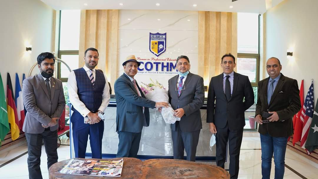 GM Hotel Pearl Continental visits COTHM | Daily Times