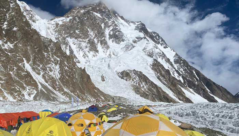 Nepal team become first to summit Pakistan's K2 in winter