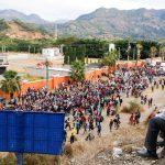'We're starving': US-bound migrant caravan hunkers down after Guatemala crackdown