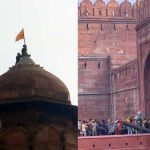 Tractor rally: Indian farmers hoist Khalistan flag on Red Fort