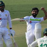 Fawad Alam hammers dazzling ton as Pakistan take first innings lead