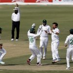 Fourteen wickets fall on thrilling day one of first Test at NSK
