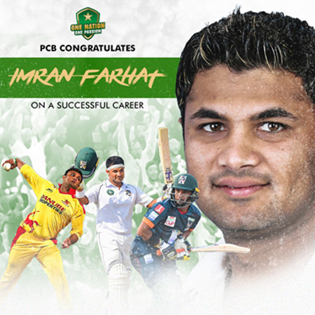 Imran Farhat retires from professional cricket after successful career