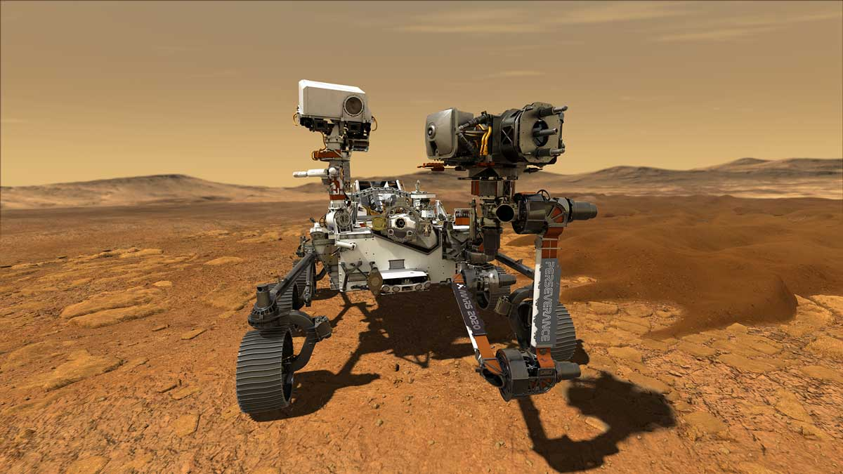 Perseverance Rover lands on Mars