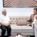 PM Imran Khan meets Rajapaksa one on one meeting