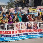 Women of Kashmir demands equal rights on Women's Day
