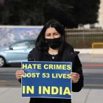 EU-based HR defenders protest against hate crimes by India