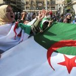 In revival of street movement, Algerians protest for second Friday