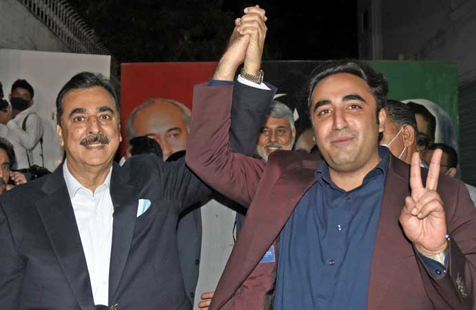 Bilawal wins PDM's support for Gilani