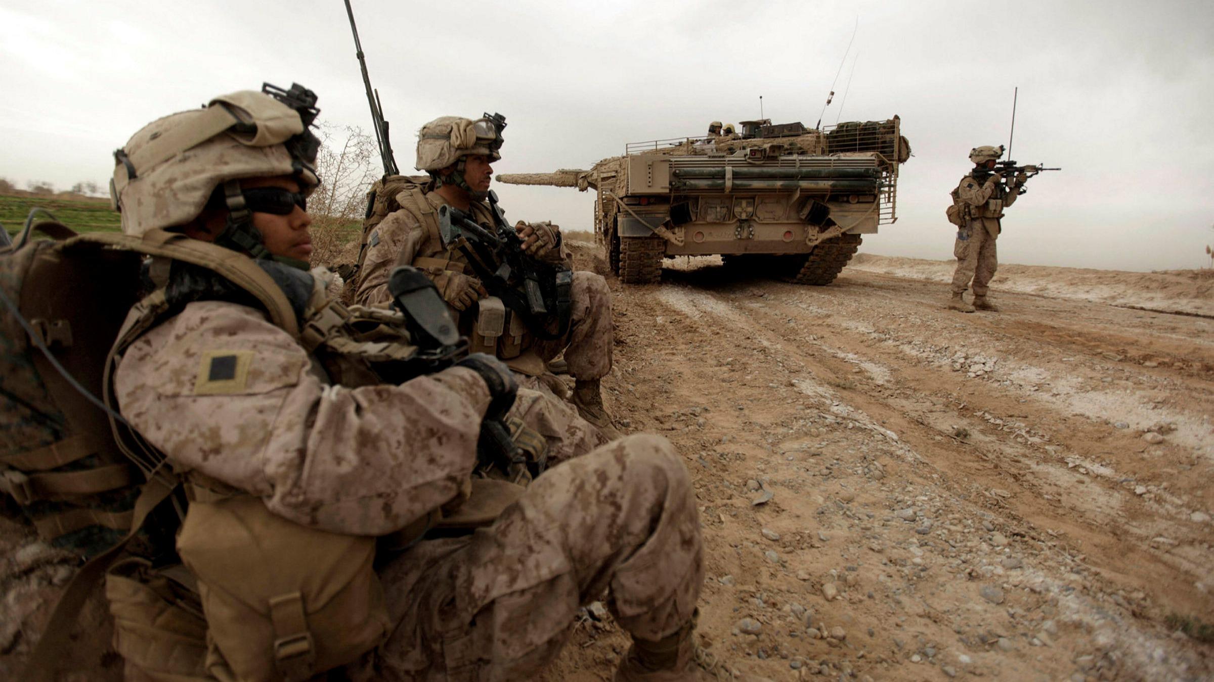 biden troops