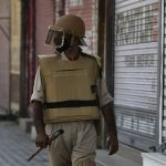 Indian cop arrested in Kashmir for blocking anti-rebel ops