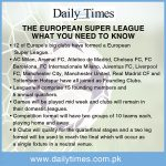 Twelve European football clubs launch Super League despite wave of criticism
