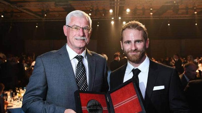 Kane Williamson awarded Sir Richard Hadlee medal for fourth time