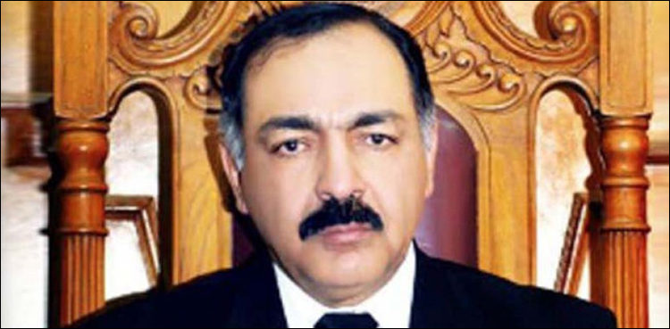Governor Yasinzai says he never spoke against Imran Khan