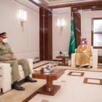 Saudi Crown Prince acknowledges Pakistan's efforts towards regional peace