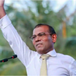 Maldives arrests two over attack on ex-president