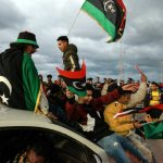Armed men stage show of force at Libya presidential council HQ