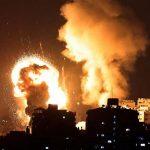 Israel strikes Gaza after Hamas rocket barrage; 20 reported dead