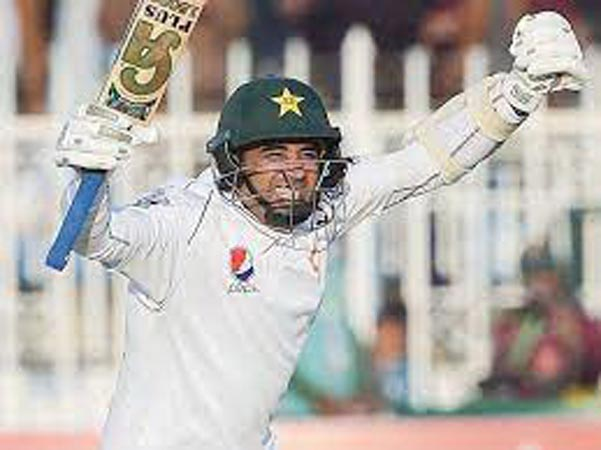 Centuries by Abid and Azhar put Pakistan in strong position