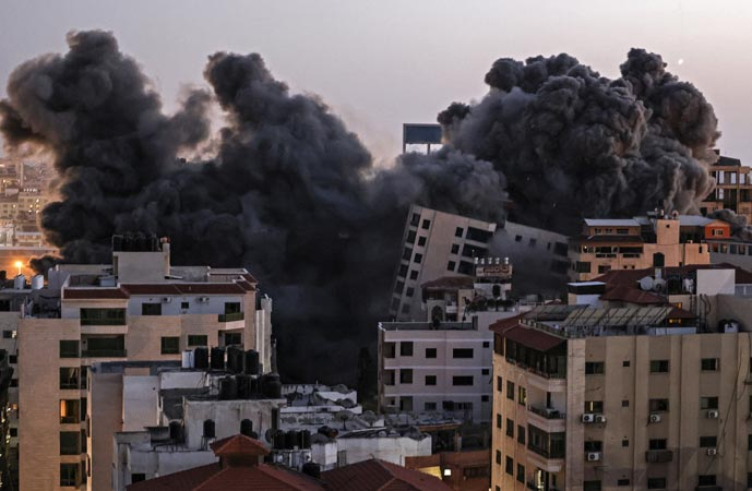 14 children among 56 martyred in over 500 Israeli airstrikes