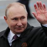 Putin on WWII Victory Day vows to 'firmly' defend Russian interests