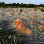Shallow graves and bodies in the river: Covid hits India's villages