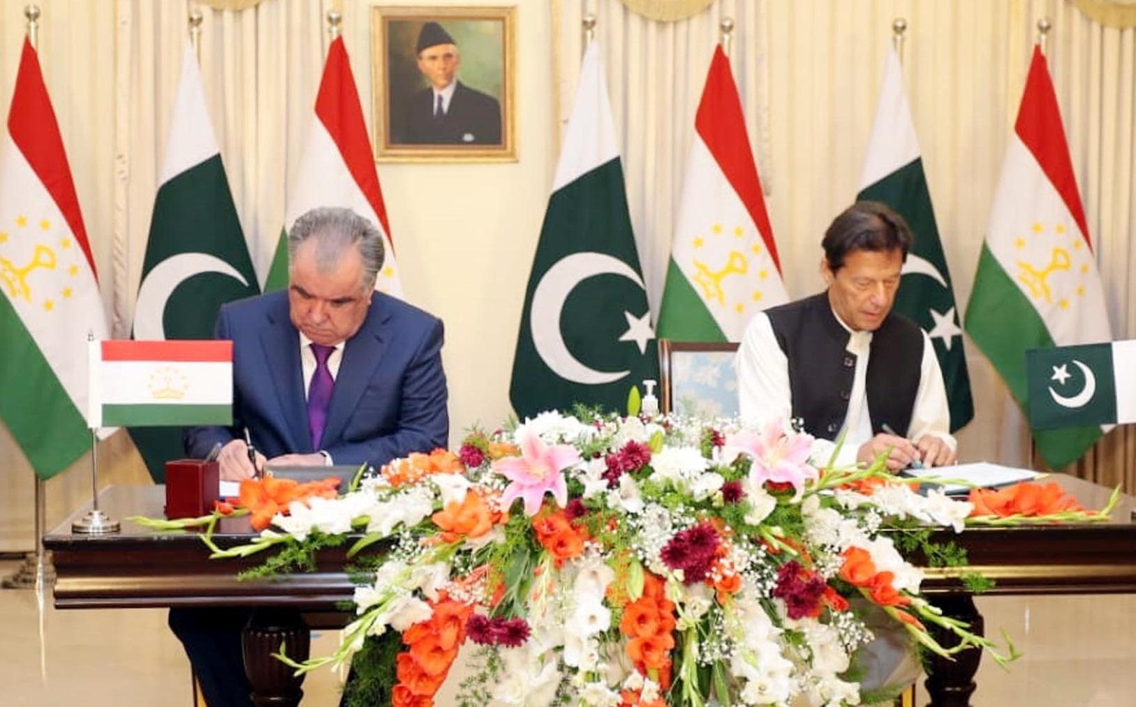 Pak-Tajik ties getting stronger with economic growth