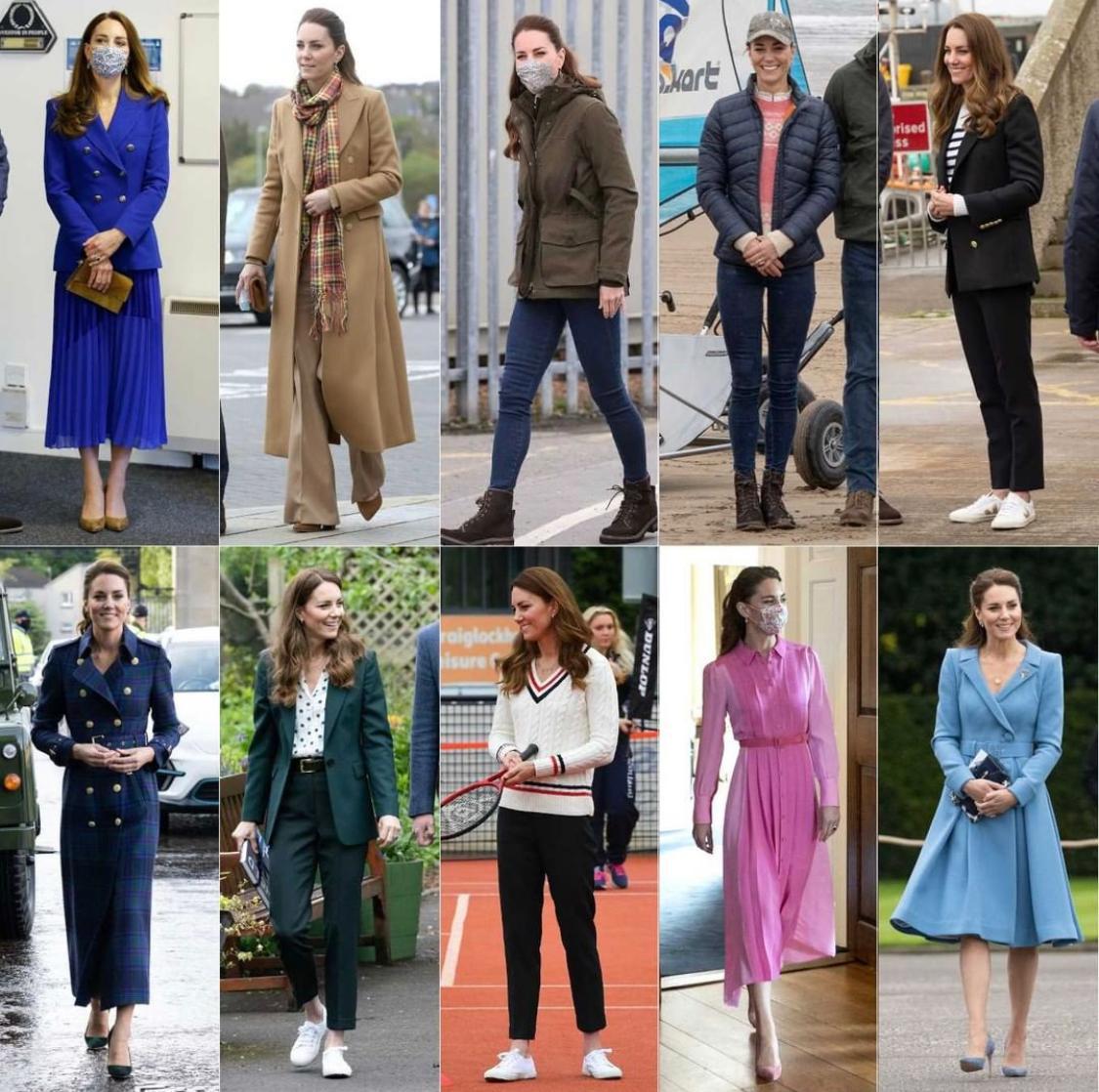 Kate Middleton's impeccable Scotland wardrobe