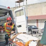 Three people killed while two others sustained injuries in a deadly collision between a tanker and a motorcycle rickshaw that occurred near Lahore Mor of Khanewal district of Punjab.