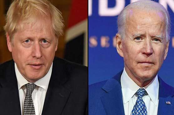 Biden and Johnson meet on eve of G7 summit