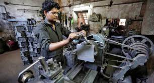 Industrial output surges 68.07pc in April, 12.84 pc in 10 months