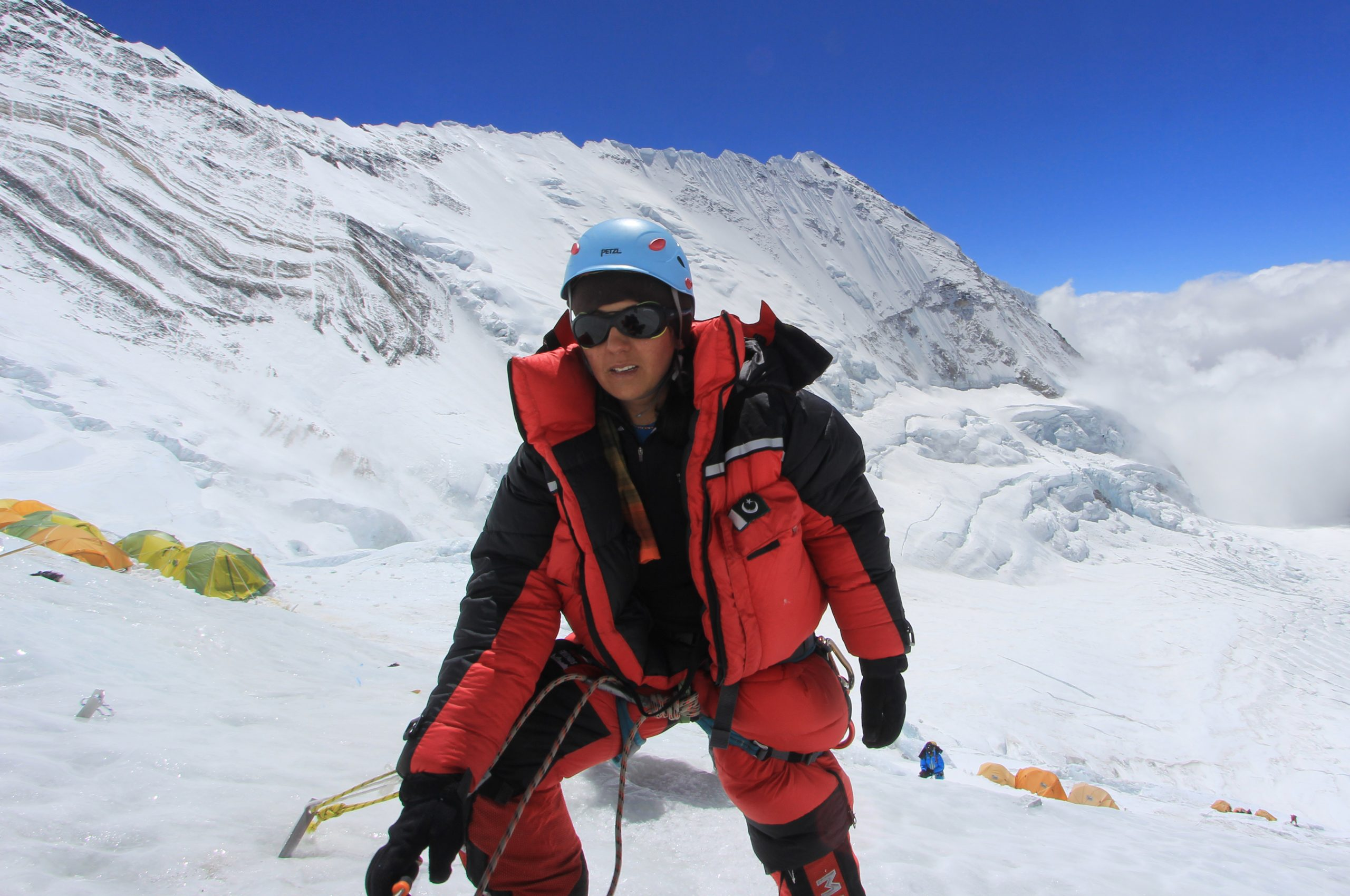 Samina Baig embarks on the journey to the world's second highest peak, K2 - Daily Times