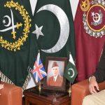 Pakistan seeks to strengthen strategic relations with UK: COAS