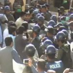 Opposition lawmakers booked for chaos outside Balochistan Assembly, surrender before Police