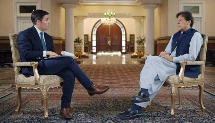 US must find a political solution before leaving Afghanistan, says Imran Khan
