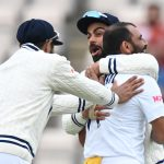 Shami strikes as India rock New Zealand in World Test final