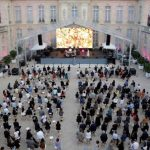 Rave at the palace: Macron resumes pre-Covid gig