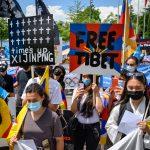 Tibetans, Uyghurs protest against Beijing 2022 Olympics