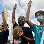Thai democracy protesters rally despite Covid warnings