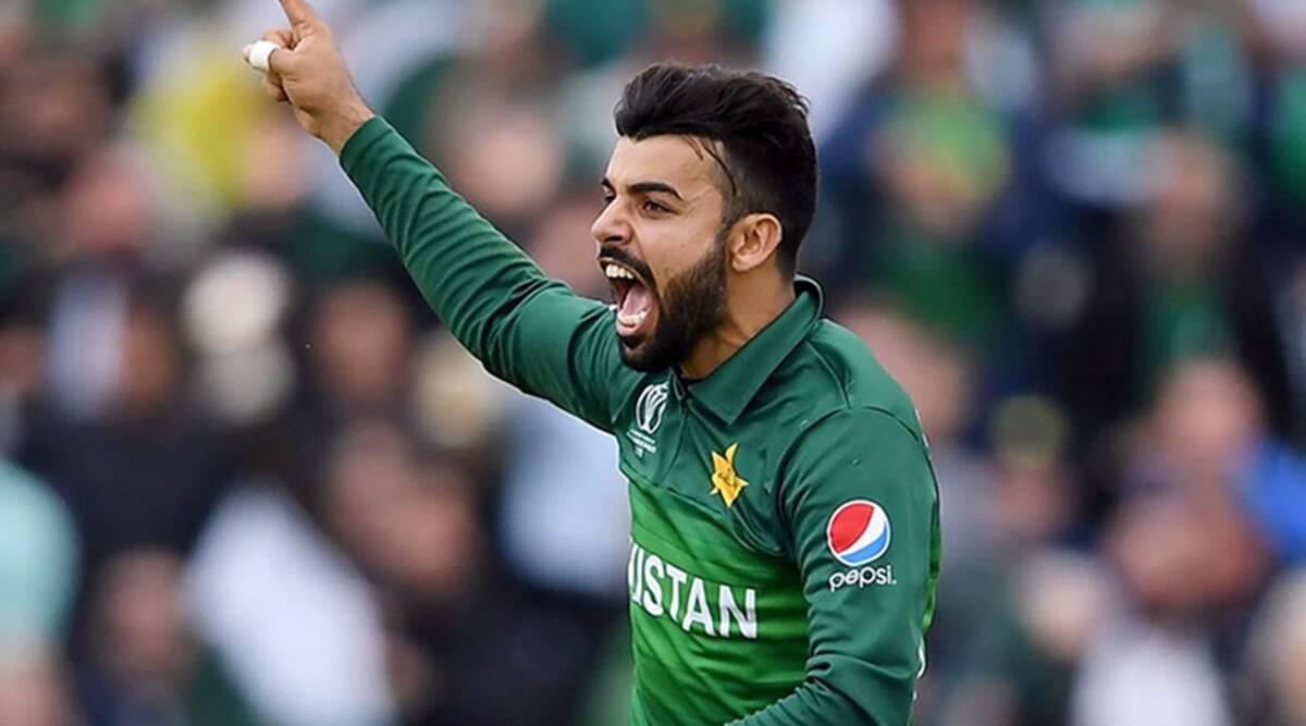 Shadab Khan upbeat about Pakistan's chances against England
