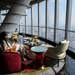 Luxury in the clouds — Shanghai opens world's highest hotel